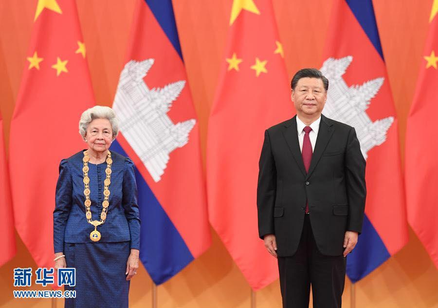 ឯកឧត្ដម Xi JinPing ៖ ព្រះរាជវង្សានុវង្សកម្ពុជា បានដើរតួនាទីយ៉ាងសំខាន់ និងមិនអាចជំនួសបាន ក្នុងចំណងមិត្តភាពចិន-កម្ពុជា